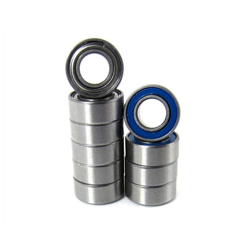 TRB RC 5/32x5/16x1/8 Precision Ball Bearings ABEC 5 Hybrid Seals Blue (10) - trb-rc-bearings
