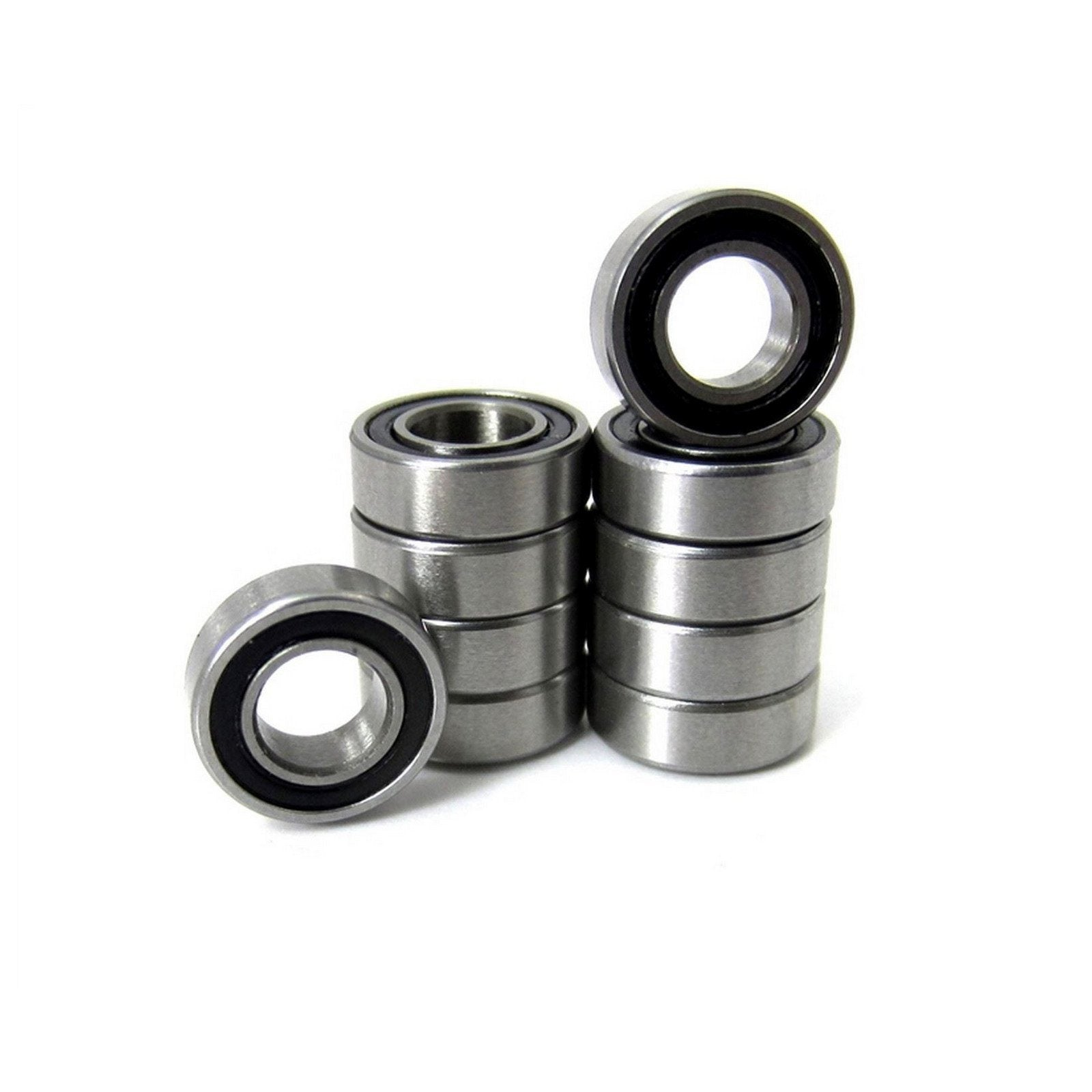 TRB RC 3/16x3/8x1/8 Precision Ball Bearings ABEC 3 Rubber Sealed (10) - trb-rc-bearings