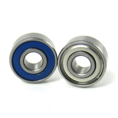 3/16x1/2x49/250 Precision Ball Bearings ABEC 5 Hybrid Seals (2) - TRB RC®