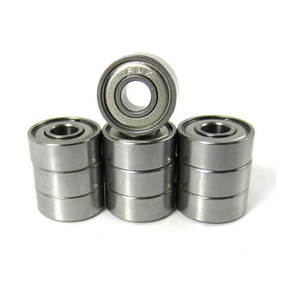3/16x1/2x49/250 Precision Ceramic Ball Bearings Metal Shields (10) - TRB RC®