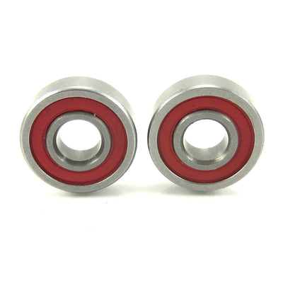 TRB RC 5x13x4mm Precision Ceramic Ball Bearings Red Rubber Seals (2) - TRB RC®