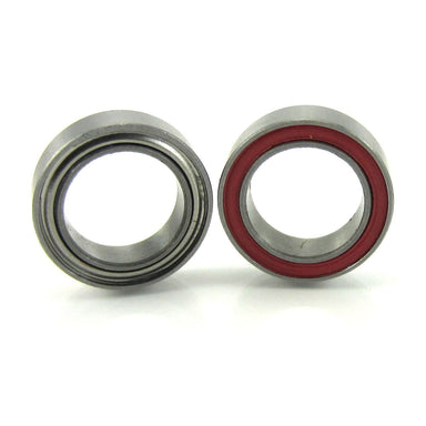 TRB RC 8x12x3.5mm Precision Ceramic Ball Bearings Hybrid Seals Red (2) - trb-rc-bearings