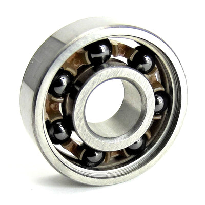 TRB RC 8x22x7mm S-608 Open Ball Bearing Hybrid Ceramic - trb-rc-bearings