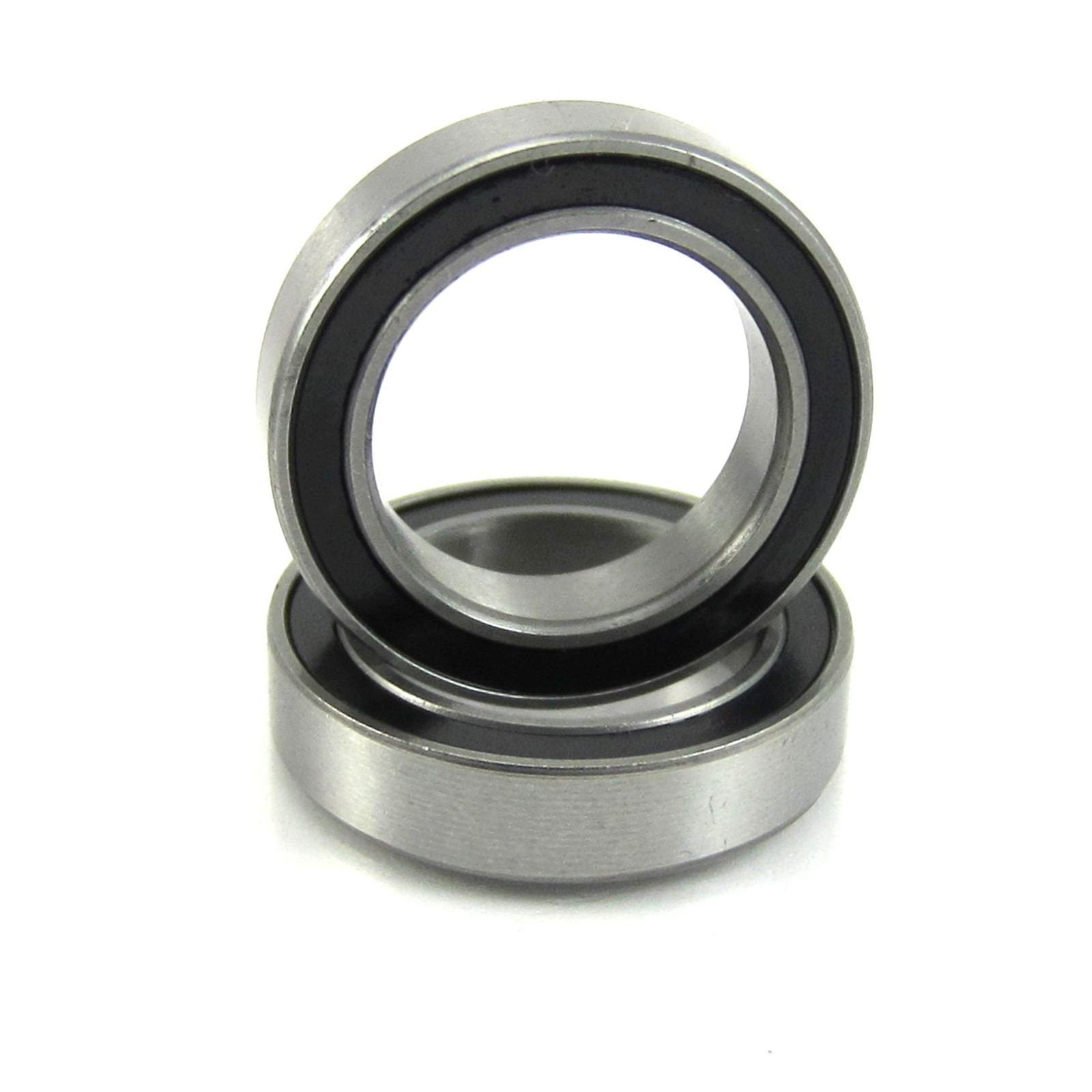TRB RC 12x18x4mm Precision Ball Bearings Stainless Steel Rubber Sealed (2) - trb-rc-bearings