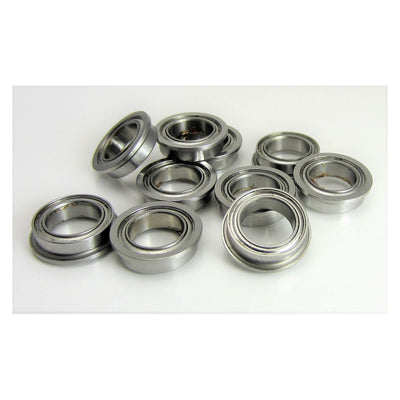 TRB RC (10) 8x12x3.5mm Flanged Precision Stainless Steel Ball Bearing, Fishing Reels - trb-rc-bearings