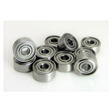 "TRB RC (10) 1/8x3/8x5/32"" Precision Stainless Steel Ball Bearing, Fishing Reels - trb-rc-bearings"