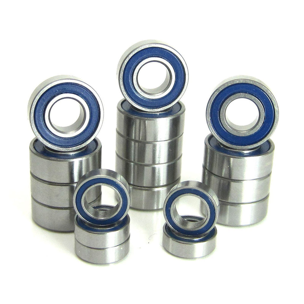 TRB RC Precision Bearing Kit (18) Blue Rubber Sealed Tamiya HotShot - TRB RC®