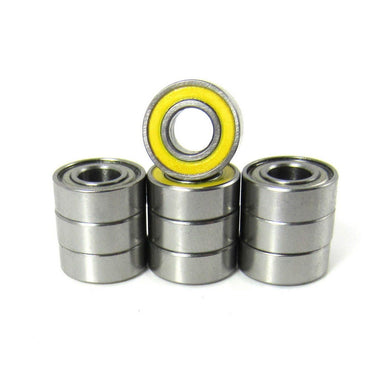 TRB RC 5x11x4mm Precision Ceramic Ball Bearings Hybrid Seals (10) - trb-rc-bearings