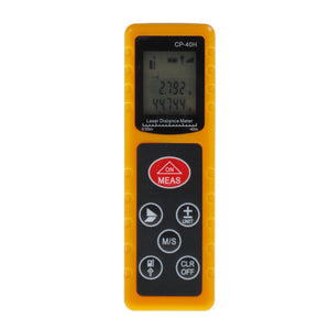 2017 New CP-40H Mini 40M Handheld Digital Laser Distance Meter Range Finder hunting Diastimeter For Construction Industries