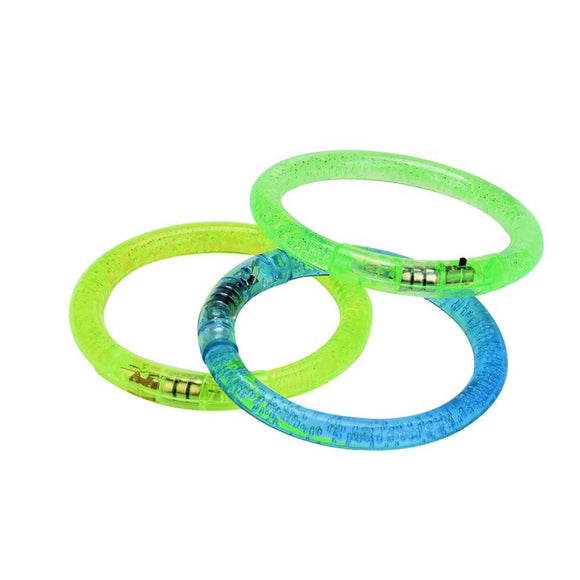 Crystal Acrylic Flash Bracelet Party Luminous Hand Light Ring Children Toys Glow bracelet Luminous toys for children