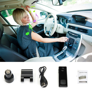 2017 Wireless Bluetooth 3.0 USB Hands Free Car Auto Kit Speakerphone Speaker Phone Visor Clip