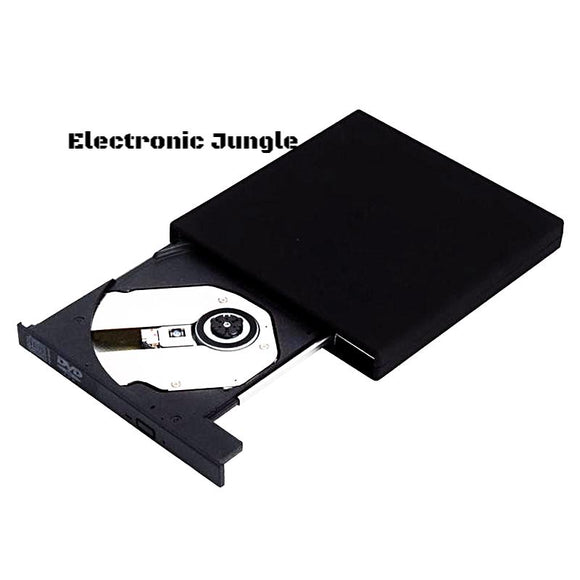 100% Brand New  Black USB 2.0 External DVD Combo CD-RW Burner Drive CD+-RW DVD ROM Free Shipping&Wholesale