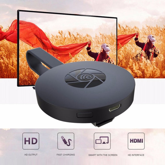 Digital Wireless HDMI Media Video Streamer pk Google Chromecast With Screen Support 1080p HD Picture Intelligent Smart