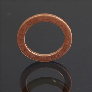 10pcs M10 0.87mm Standard Braided Clutch Brake Hose Banjo Seal Copper Crush Washer