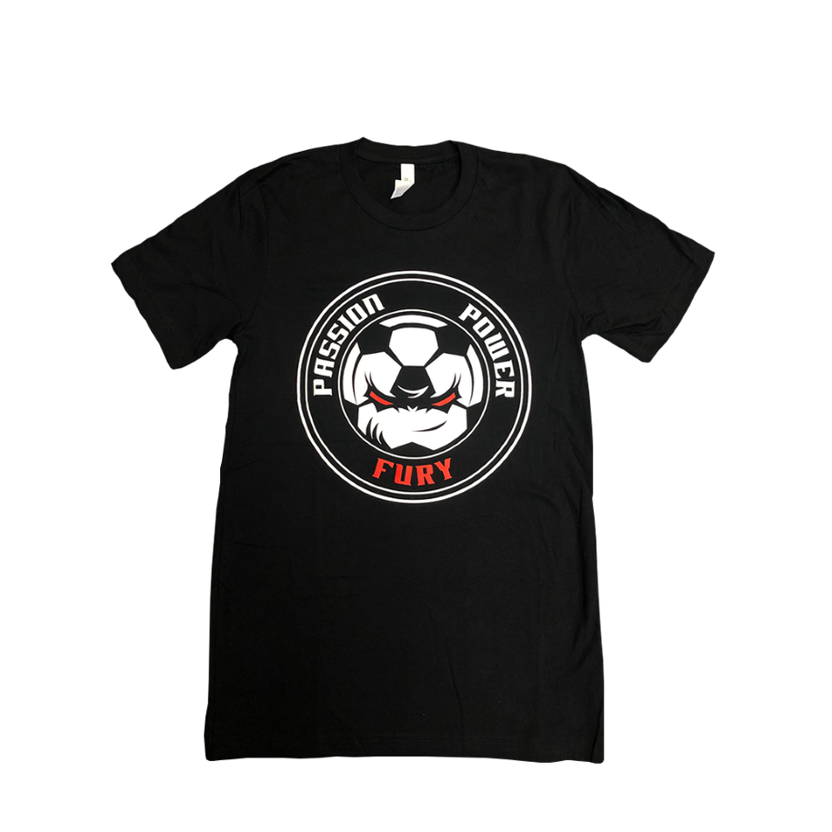 Black Soccer Shirt