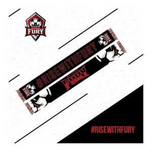 #RiseWithFury Scarf