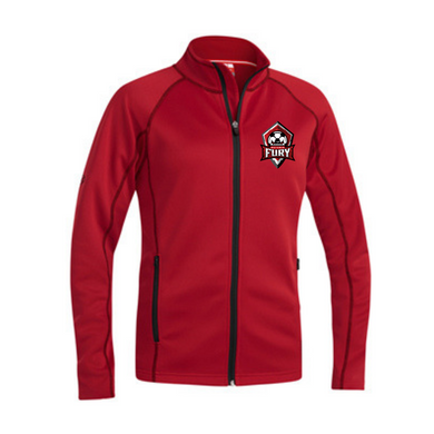 Red Zip Up Jacket - Youth