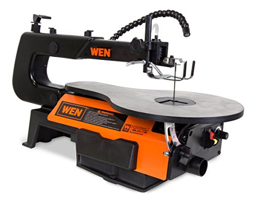 WEN 3920 16-Inch Two-Direction Variable Speed Scroll Saw with Flexible – A-Z CONSTRUCTION EQUIPMENT