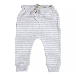 Grey Stripe Pants