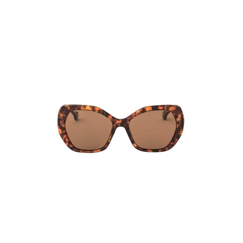 Sunglasses Ida Leopard Brown