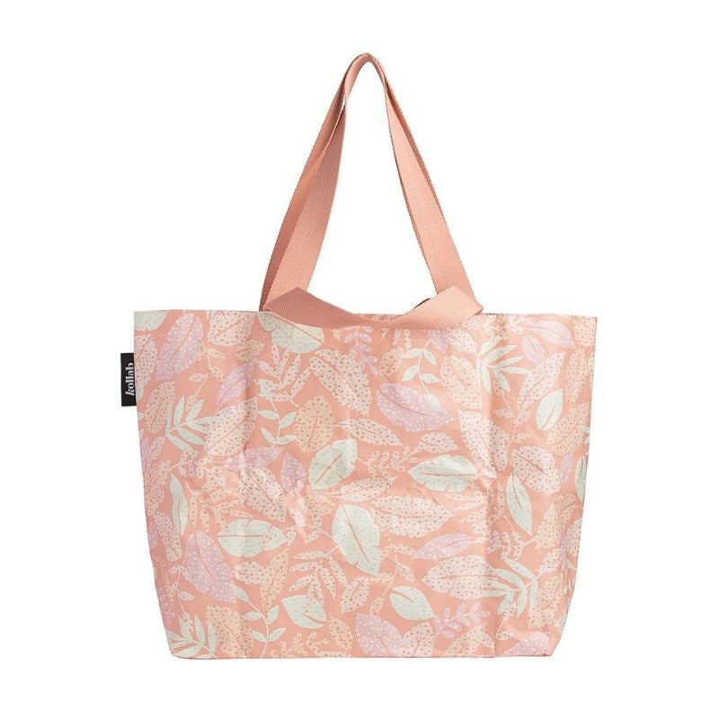 Spotty Leaves Shopper Tote