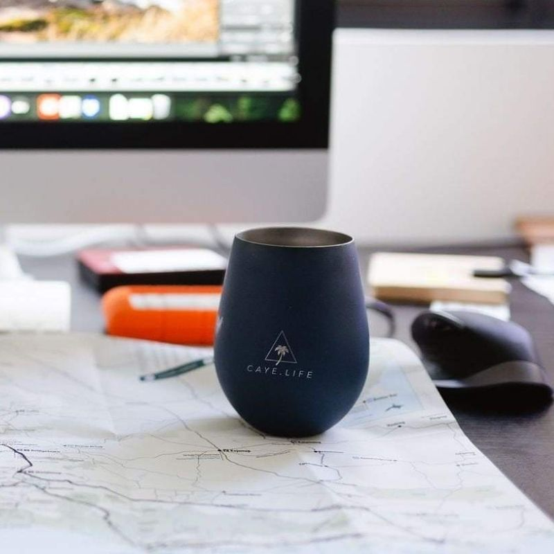 Insulated Reusable Cup - Navy