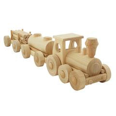 Wooden Freight Train Damon