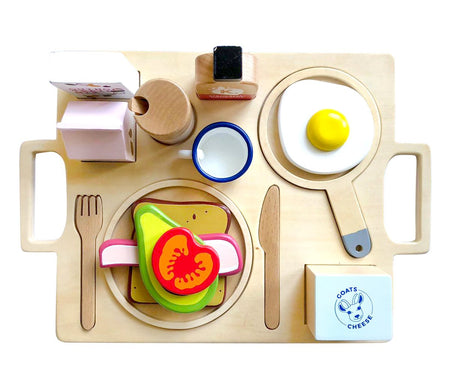 Healthy Breakfast Tray