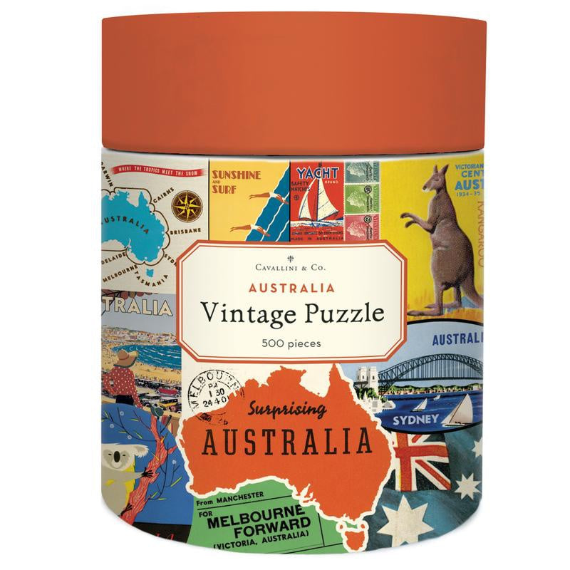 500 PC Puzzle - Australia Collage