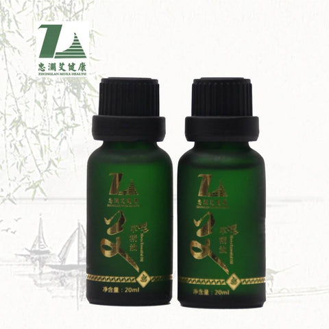 Top grade body massage wormwood oil moxa leaf