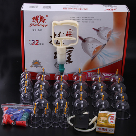 32pcs Vacuum cupping set.