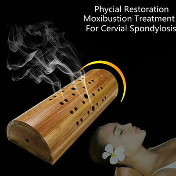Moxa box Treatment  For Neck Vertebra Therapy