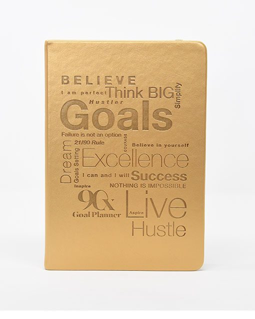 90x Goal Planner Embossed by 90x