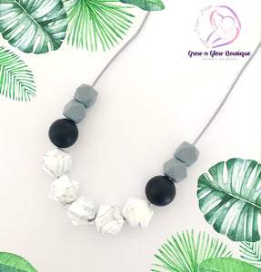 'STONE' Silicone Breastfeeding Necklace