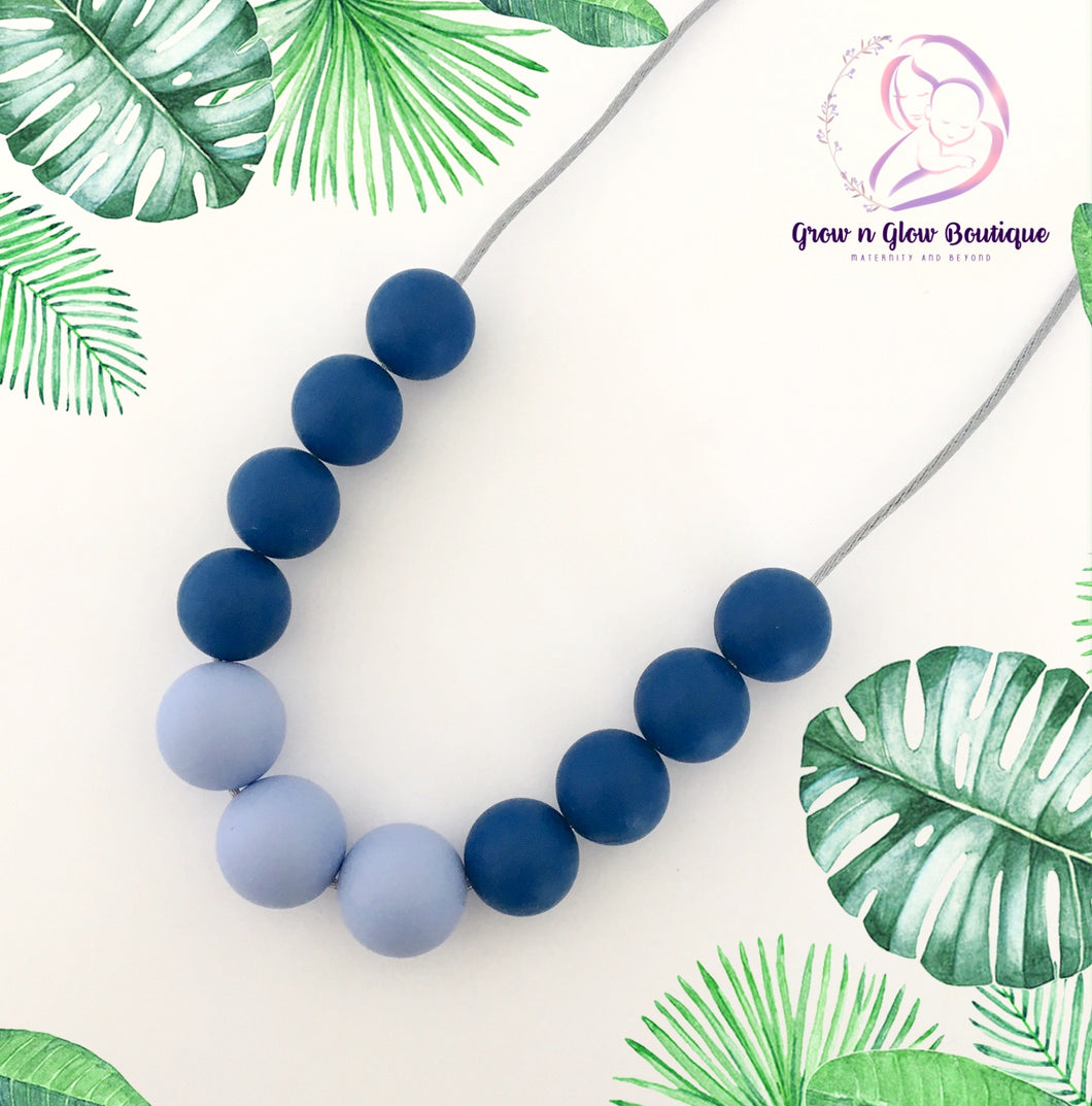 'OCEAN' Silicone Breastfeeding Necklace