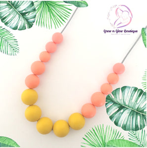 'AUTUMN' Silicone Breastfeeding Necklace