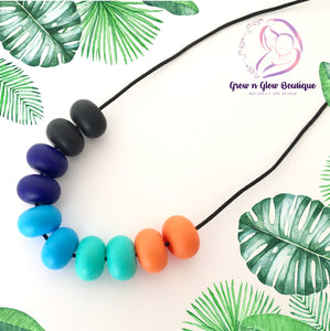 'AUDREY' Silicone Breastfeeding Necklace