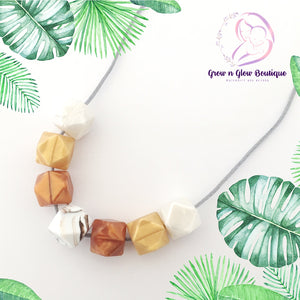'PEARL' Silicone Breastfeeding Necklace