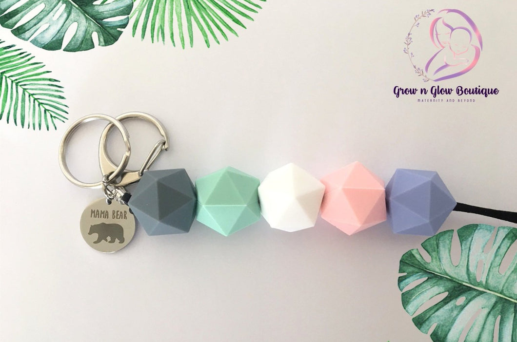 'SIMPLICITY' Silicone Key Chain