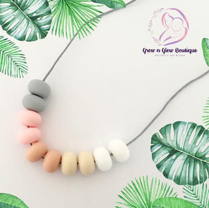 'ARIANNA' Silicone Breastfeeding Necklace