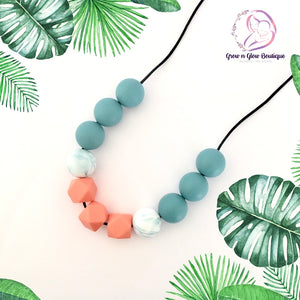 'SIENNA' Silicone Breastfeeding Necklace