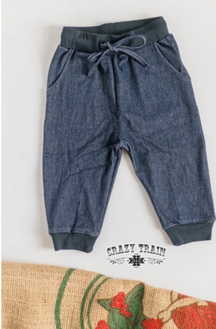 Kids Dandy Denim Joggers