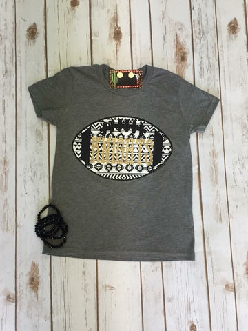 Youth Knights Tribal Football Tee