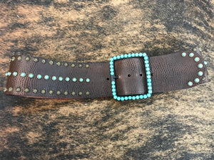 Brown/Turq Hip Belt