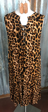 Leopard Crisscross Dress