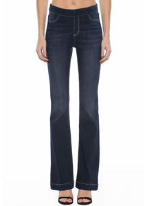 Denim Flare Jegging (Long) Dark Wash