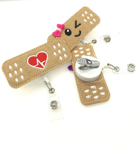 Nurse Badge Holder (Bandaid)