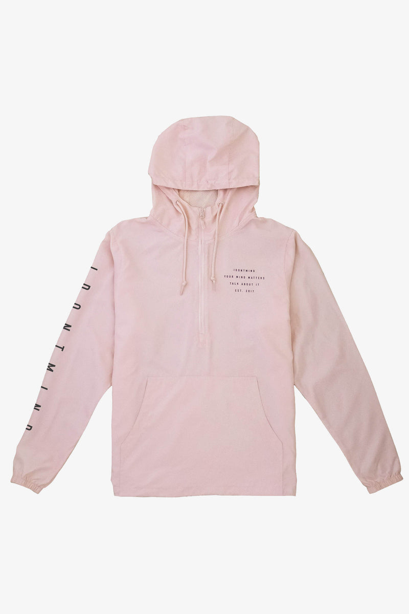 Block Windbreaker - Blush