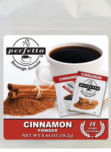 Cinnamon Powder<Br> Travel Bag - 14 Packets Coffee Accents
