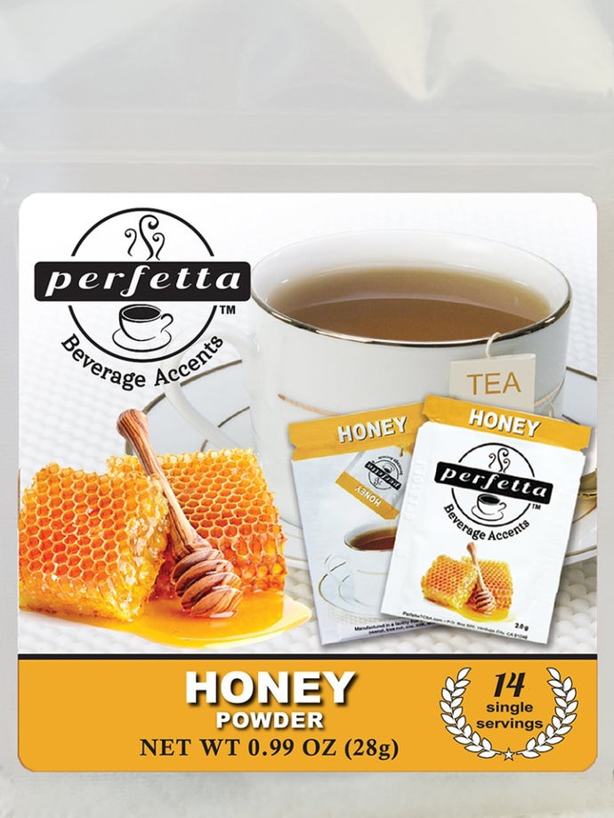 Honey Powder<Br> Travel Bag - 14 Packets Tea Accents